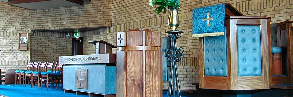 The Font and Pulpit